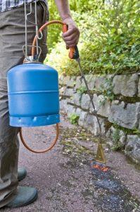 test désherbeur thermique Campingaz Garden Torch